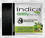100 Pc Indica Easy10 Minutes Herbal Hair Color Shampoo Base Natural Black Herbs