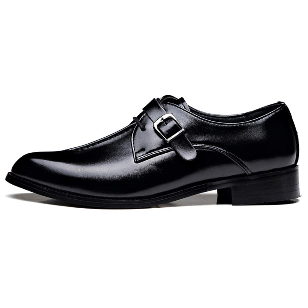 Uomo Accento Scarpe Formale Matrimonio Genuino in Pelle Scarpe retr/ò Business Ufficio Uomini Appartamenti Oxfords