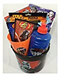 "Star Wars Gift for Kids 8 Piece Bundle Includes 2 Play Packs, 1 Puzzle, 2 Jelly Belly Galaxy Mix, I Cup, 1 Canteen, and 1 Star Wars 6"" Bucket"