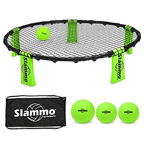 GoSports Slammo Game Set (Includes 3 Balls, Carrying Case and Rules) - Low Target Sets