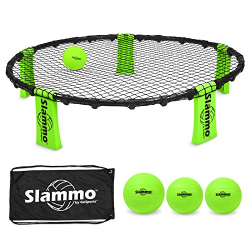 GoSports Slammo Game Set (Includes 3 Balls, Carrying Case and Rules) by GoSports