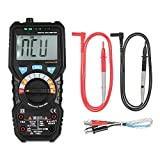 BSIDE 6000 Counts Auto Range True RMS Multi-functional Digital Multimeter DMM with NCV Detector DC AC Voltage Current Meter Resistance Diode Capacitance Frequency Live Line Tester Temperature hFE Meas