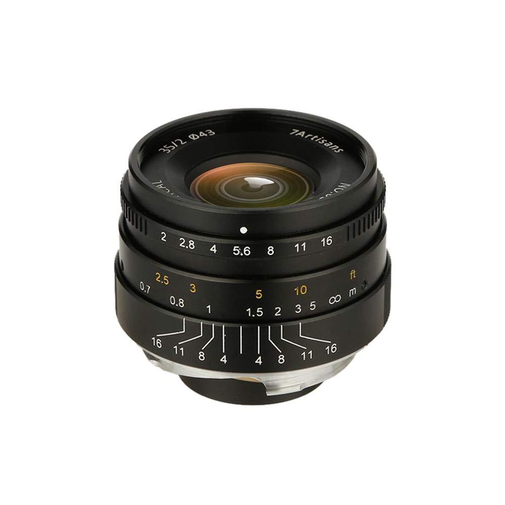 casualcatch 7artisans 35mm F2.0フルフレームレンズ マイクロシングルカメラ用 E-mount FX-mount casualcatch canon-M対応 E-mount FX-mount B07GR6W6P1, リフォームネクスト:75052aec --- ijpba.info