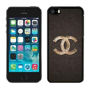 Chanel (1) Black Best Sale Fantastic iPhone 5C Cover Case