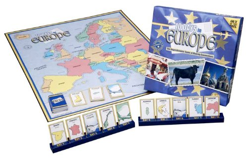 board game 10 days in europe - 3