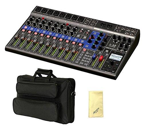 【愛曲クロス付】【汎用ギグケース/EFS40付】ZOOM ズーム LiveTrak L-12 ライブ演奏のミックスとレコーディングに   B077VLQGCK