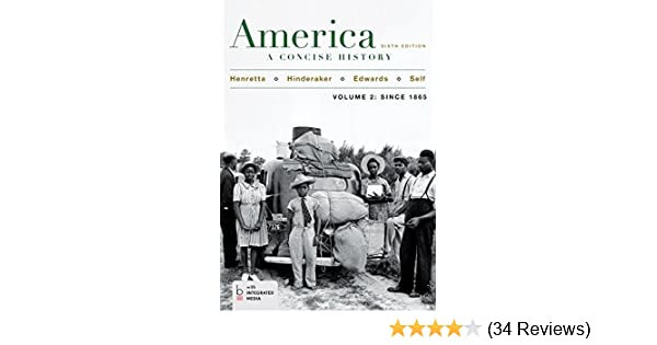Amazon america a concise history volume 2 ebook james amazon america a concise history volume 2 ebook james henretta eric hinderaker robert self rebecca edwards kindle store fandeluxe Choice Image