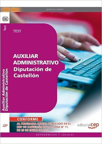 Amazon.com: Auxiliar administrativo Diputación Provincial de ...