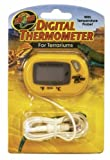 Zoo Med Digital Terrarium Thermometer, 3 x 2 x