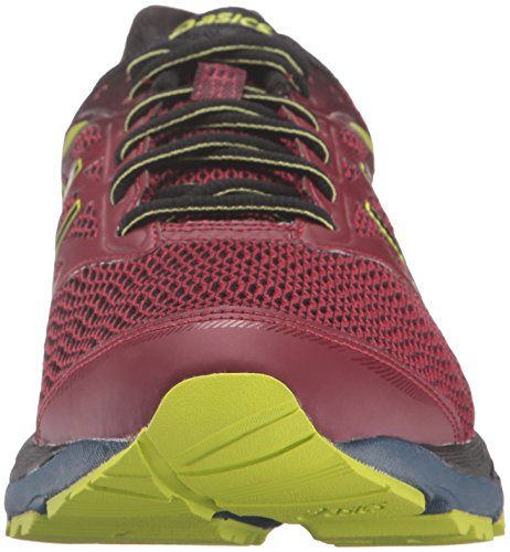 ASICS-Mens-Gel-Cumulus-18-G-TX-running-Shoe-PomegranateBlackSulphur-Spring-7-M-US