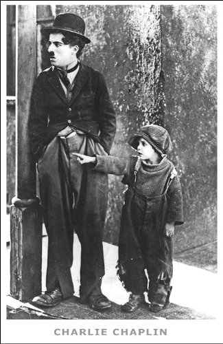 Charlie Chaplin The Kid poster 24 x 34 inches