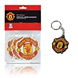 Manchester United FC Gift Set of 3 Air Fresheners