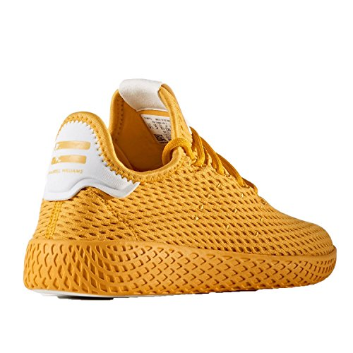 adidas Kid's Pharrell Williams Tennis Shoes Collegiate Gold / Running White very cheap price cheap best new styles for sale USJEEbc