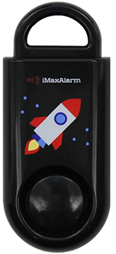 iMaxAlarm SOS Alert Personal Alarm - 130dB Alarm - Safety & Security Emergency Device - Rocket