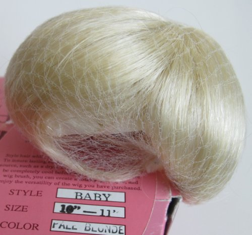 Pippin's Hollow Craft DOLL HAIR WIG Style BABY Fits SIZE 10