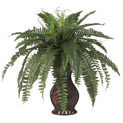 Amazon wholesale boston fern wurn silk plant decor silk wholesale boston fern wurn silk plant decor silk flowers mightylinksfo