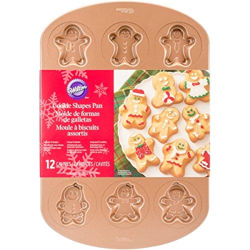 Pan Gingerbread Cookie (Wilton Gingerbread Boy Cookie Pan)