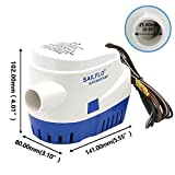 YopoToys Automatic 1100 GPH 12V Submersible Marine Boat Bilge Pump Electric Boat Plumbing Bilge Pump of Boating Equipment