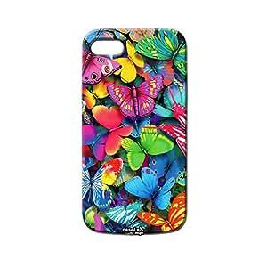 Funda carcasa Case Mariposas Colores para iPod Touch 4