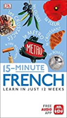 Learn French in just 15 minutes a day with this revolutionary language learning system, now with an accompanying free app that is available in the App Store and Google Play.       Practicing your language skills is quick, easy, and fun...