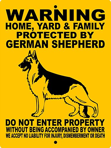 GERMAN SHEPHERD DOG SIGN 9
