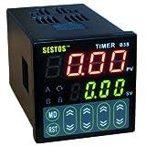 Sestos Digital Quartic Timer Relay Switch 100-240V Relay Ce Ac100-240V B3S-2R-220