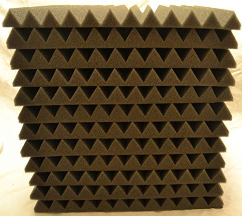 FOAMENGINEERING 48-Pack Acoustic Panels Studio Soundproofing Foam Wedge tiles 1''x12''x12'' 100% Made in USA- Great for music sound and noise reduction. by FoamEngineering (Image #6)
