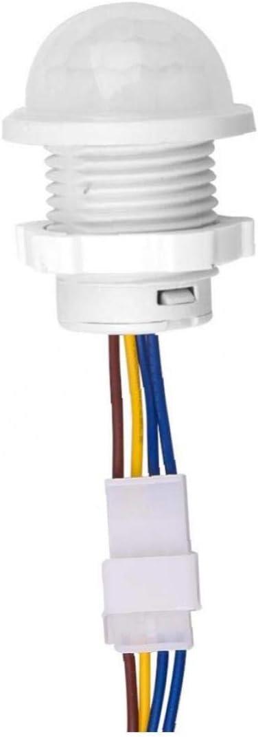 Amoyer Mini Closet PIR Sensor Switch 110V 220 V PIR Capteur de Mouvement Infrarouge de d/étection Automatique du capteur Interrupteur