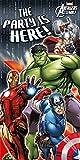 Marvel Unique Party Avengers Assemble Door Banner, 5ft x 2.5ft