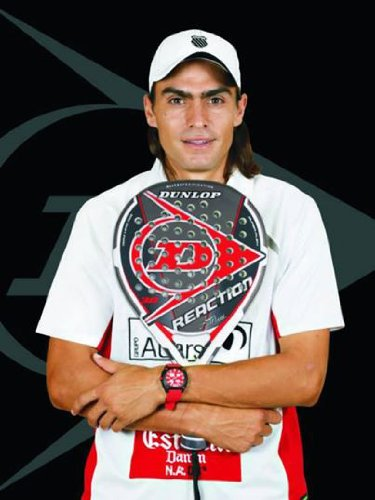 Dunlop Reaction - Pala pádel Juani Mieres: Amazon.es: Deportes y aire libre
