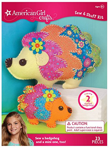 American Girl Crafts Hedge Hogs Sew Stuff Kit