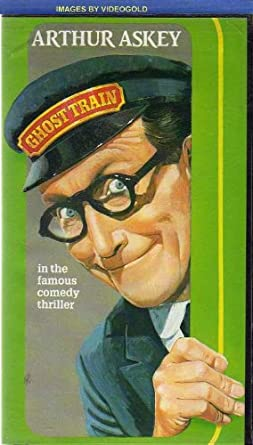 GHOST TRAIN (1941 VHS VIDEO ): ARTHUR ASKEY, RICHARD MURDOCK ...