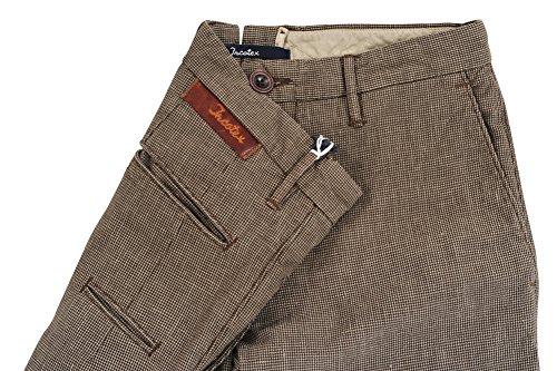 Incotex Pantalon Homme 31 Marron / Casual Taille normale Coupe régulière R