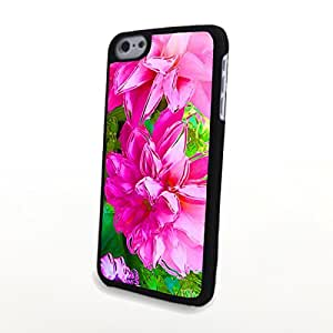 CaseLiveliy Fresh Colorful Flowers Matte Pattern PC Phone Cases fit for Beautiful iPhone 5C Case