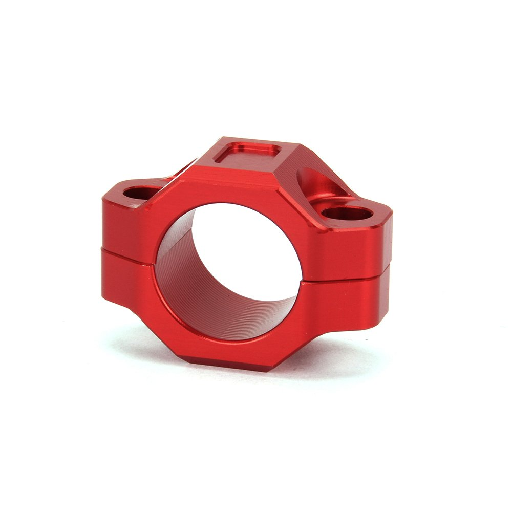 JFG RACING CNC Engine Kill Switch Mounting Backplate For 7/8'' Handlebars - Red