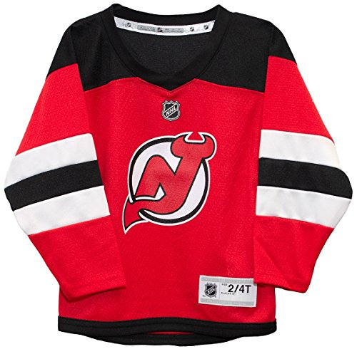 Outerstuff NHL NHL New Jersey Devils Kids & Youth Boys Replica Jersey-Home, Red, Kids One Size