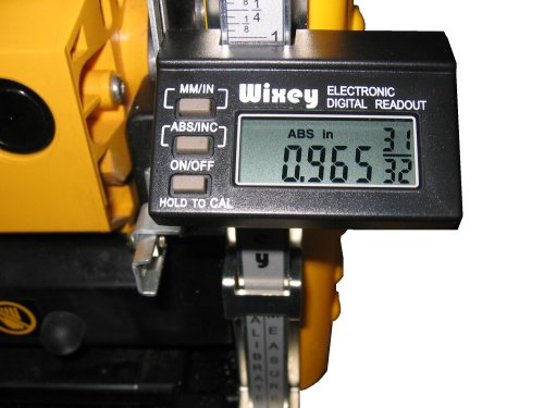 Wixey WR510 Digital Planer Readout with Fractions ()