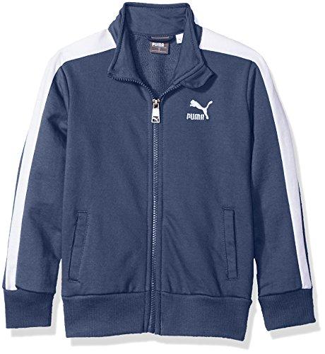 PUMA Big Boys' T7 Track Jacket, Sargasso Sea, Medium (10/12) by PUMA