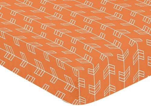 Orange Changing Pad Cover - 6