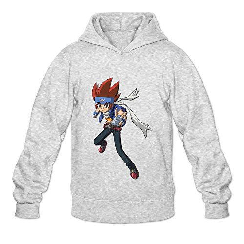 Price comparison product image Seico Men Beyblade Metal Fury Hoody Ash Size S