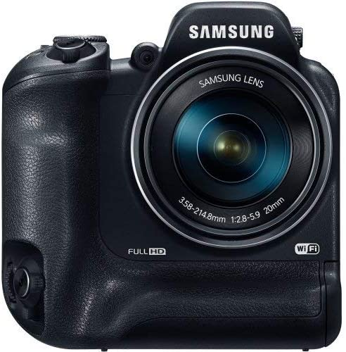 "Samsung WB2200F 16.4 Megapixel Compact Camera - Black - 3"" LCD - 60x Optical Zoom - Optical (is) - 4608 x 3456 Image - 1920 x 1080 Video - HDMI - HD Movie Mode 51rPvKqY3oL"