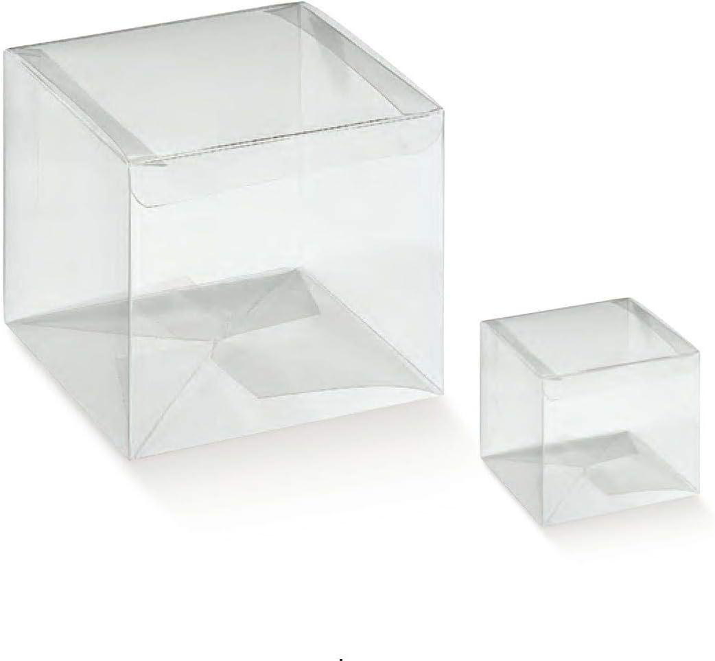 50 X Boite Sachets /à Drag/ées Transparent PVC 94042 10x10x12 CM Chance SAS Irpot
