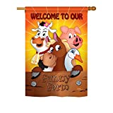 Cheap Breeze Decor – Funny Farm Nature – Everyday Impressions Decorative Vertical House Flag 28″ x 40″