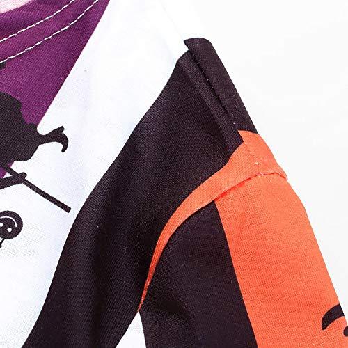 Manches Près Rond Decoration Femme Chemise Blanc Imprimé Devil Coupe Longues Imprimer Angelof Col Robe Halloween Costume Du Corps 0UzxwqWIg