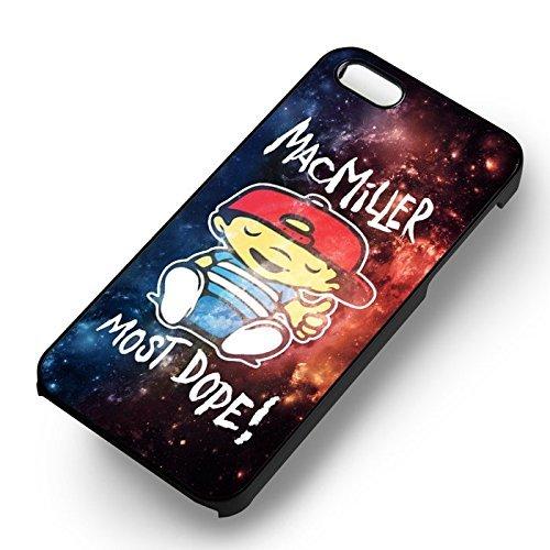 Mac Miller Galaxy Nebula pour Coque Iphone 6 et Coque Iphone 6s Case (Noir Boîtier en plastique dur) K3H5DP