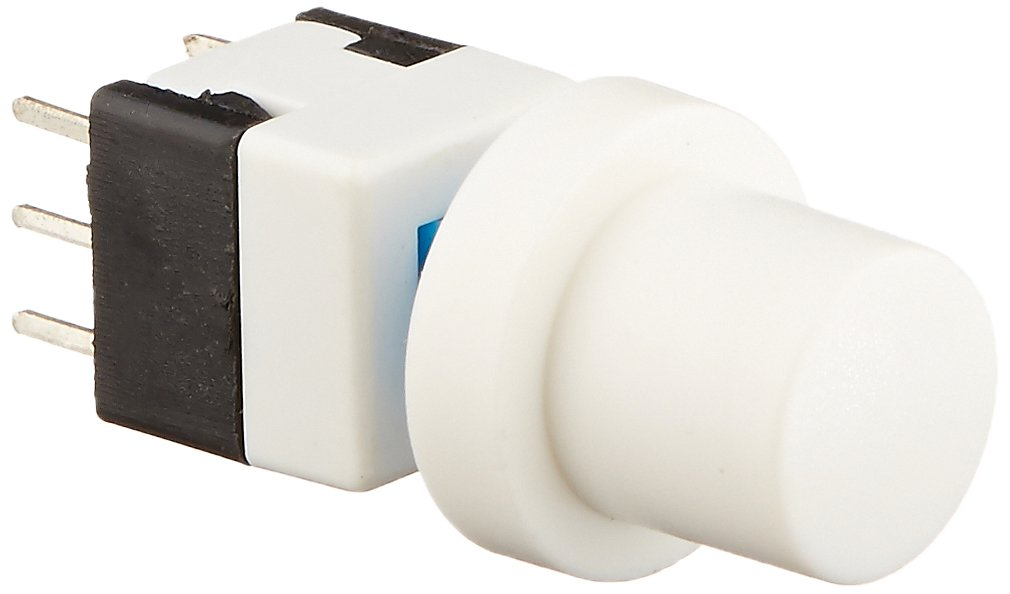 Uxcell 6-Pin DIP Cap Self Lock Tact/Tactile/Push Button Switch