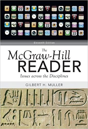The mcgraw hill reader issues across the disciplines gilbert the mcgraw hill reader issues across the disciplines 11th edition fandeluxe Images