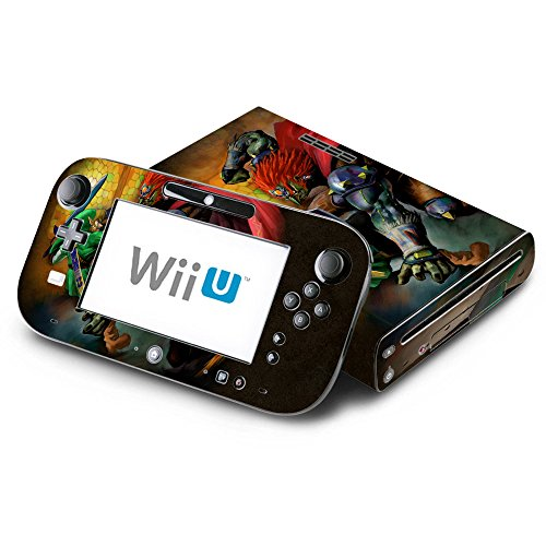 The Legend of Zelda: Ocarina of Time Decorative Decal Cover Skin for Nintendo Wii U Console and GamePad