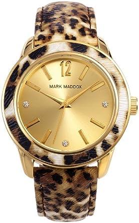Reloj Mark Maddox Mc3004-95 Mujer Dorado