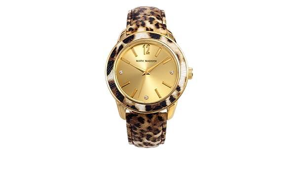 Amazon.com: Watch Mark Maddox Mc3004-99 Women´s Gold: Mark Maddox: Watches